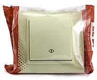 Выключатель промежуточный одноклавишный El-Bi ZENA Кремовый