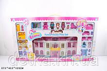 Кукольный дом 1204 с куклами и мебелью батар муз свет