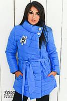 Женская стильная куртка  СА039 (бат)