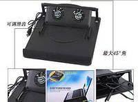 Подставка для ноутбука Notebook holder с двумя дополнительными кулерам