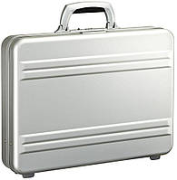 Мужской малый алюминиевый кейс Zero Halliburton Slimline CS3-SI серебристый