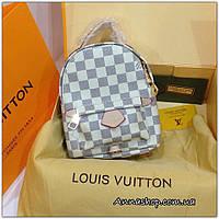 Рюкзак мини Louis Vuitton Louis Vuitton Palm Springs Damier Azur, Люкс копия