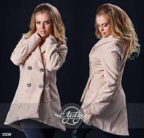 Женское стильное пальто  СА087 (бат)