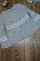 Женская блуза  с длинным рукавом
