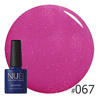 Гель-лак NUB Lovely color 067