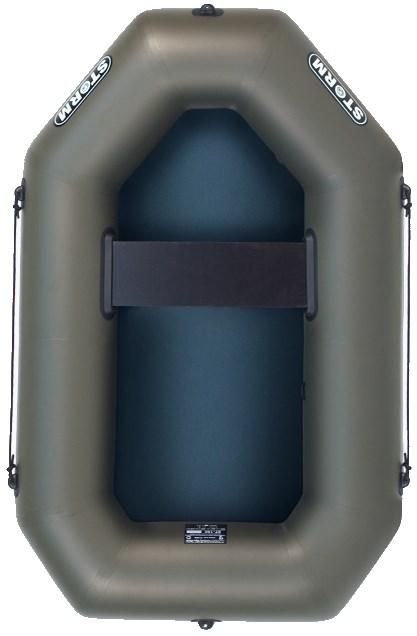 Лодка надувная Шторм модель st-190 одноместная гребная