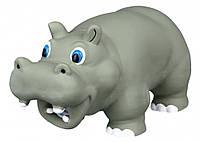 Игрушка Trixie Hippo для собак латексная, бегемот с пищалкой, 17 см