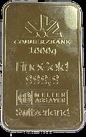 Банковское золото муляжи изготовить для банков Киев