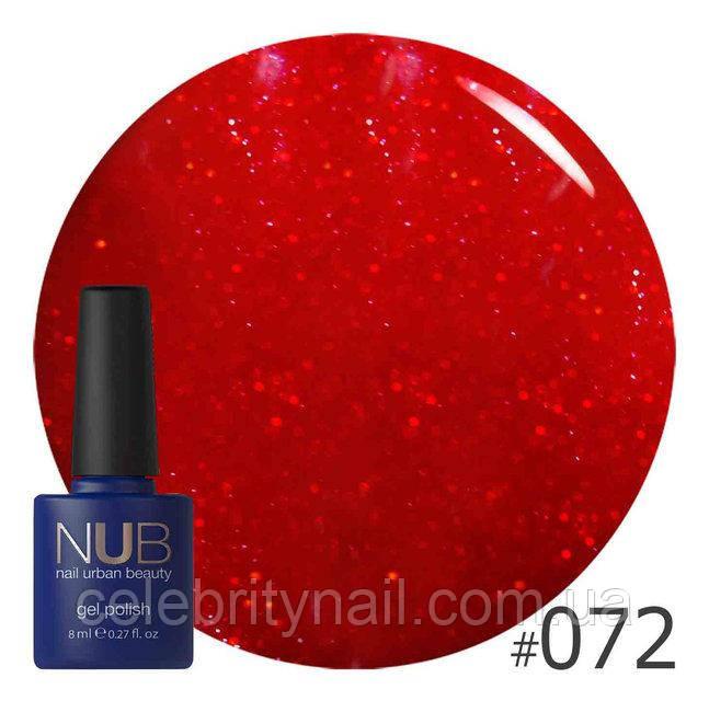 Гель-лак NUB Celebrity 072