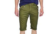 Зеленые мужские шорты STRAVT на лето