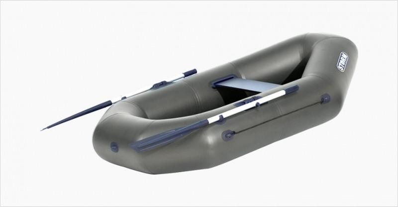 Лодка надувная Шторм st220 одноместная гребная