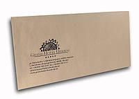 Конверт  с логотипом  бумажный почтовый  Днепропетровск