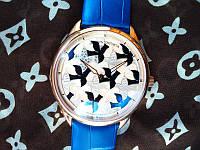 """Наручные часы Vacheron Constantin """"Les univers infinis"""" голубые  (копия)"""