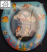 Детское сиденье (накладка) на унитаз Aqua Fairy Н002