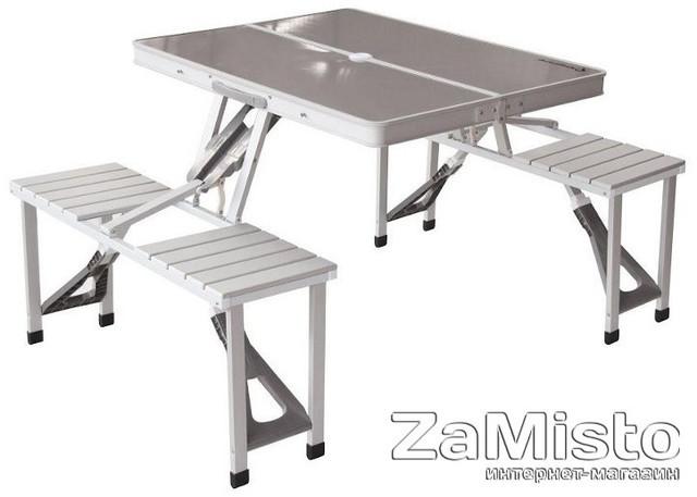Стол раскладной KingCamp Delux Picnic set (KC3864) Silver