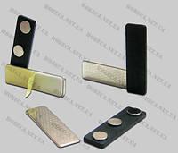 Металлические и магнитные держатели бейджа