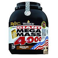 Weider Mega Mass 4000, 3 kg Вейдер мега масс гейнер