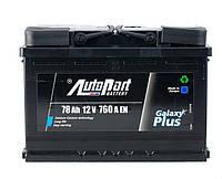 Аккумулятор автомобильный AutoPart Plus 78Ah/760A (1) L