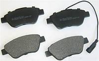 Колодки тормозные передние Doblo 06-10 / Fiorino/Nemo/Qubo/Bipper 08- (Bosch)