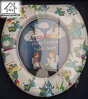 Детское сиденье (накладка) на унитаз Aqua Fairy Н003