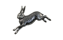 "Значок ""Бегущий заяц"" (А2) Pewter Pins & Gifts, фото 2"