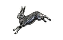 "Значок ""Бегущий заяц"" (А2) Pewter Pins & Gifts"