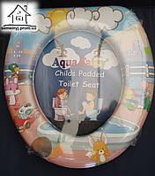 Детское сиденье (накладка) на унитаз Aqua Fairy Н004