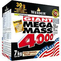 Weider Mega Mass 4000, 7 kg Вейдер мега масс гейнер
