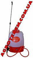 Опрыскиватель на аккумуляторе OXI 16л (ручка без клапана)