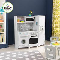"Интерактивная детская кухня Kidkraft ""Large Play Kitchen White Lights And Sounds"", фото 1"