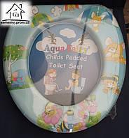 Детское сиденье (накладка) на унитаз Aqua Fairy Н005