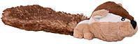 Игрушка Trixie Chipmunk для собак плюшевая, бурундук с пищалкой, 30 см