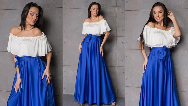 Нарядные и вечерние платья в пол новая коллекция 2017