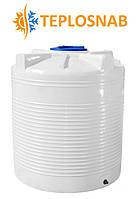 Емкость вертикальная однослойная  RVО 1000  (107х122) 1000 литров
