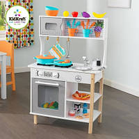 Игрушечная детская кухня с посудой Kidkraft, фото 1