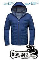 Ветровка мужская синяя Braggart брендовая
