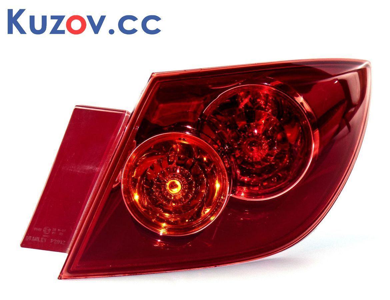 Фонарь задний Mazda 3 04-05, хетчбек левый, внешний, красный (Depo) 216-1964L-UE-R BP4K51160D
