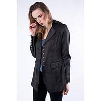 Пиджак льнянной удлиненный