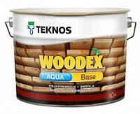 Грунтовка антисептическая для древесины TEKNOS Woodex Aqua Base 3 л
