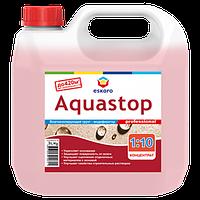 Грунтовка- концентрат 1:10 влагоизоляционная  ESKARO Aquastop Professional 1л