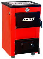 Твердотопливный котел Carbon КСТО 18 с варочной поверхностью