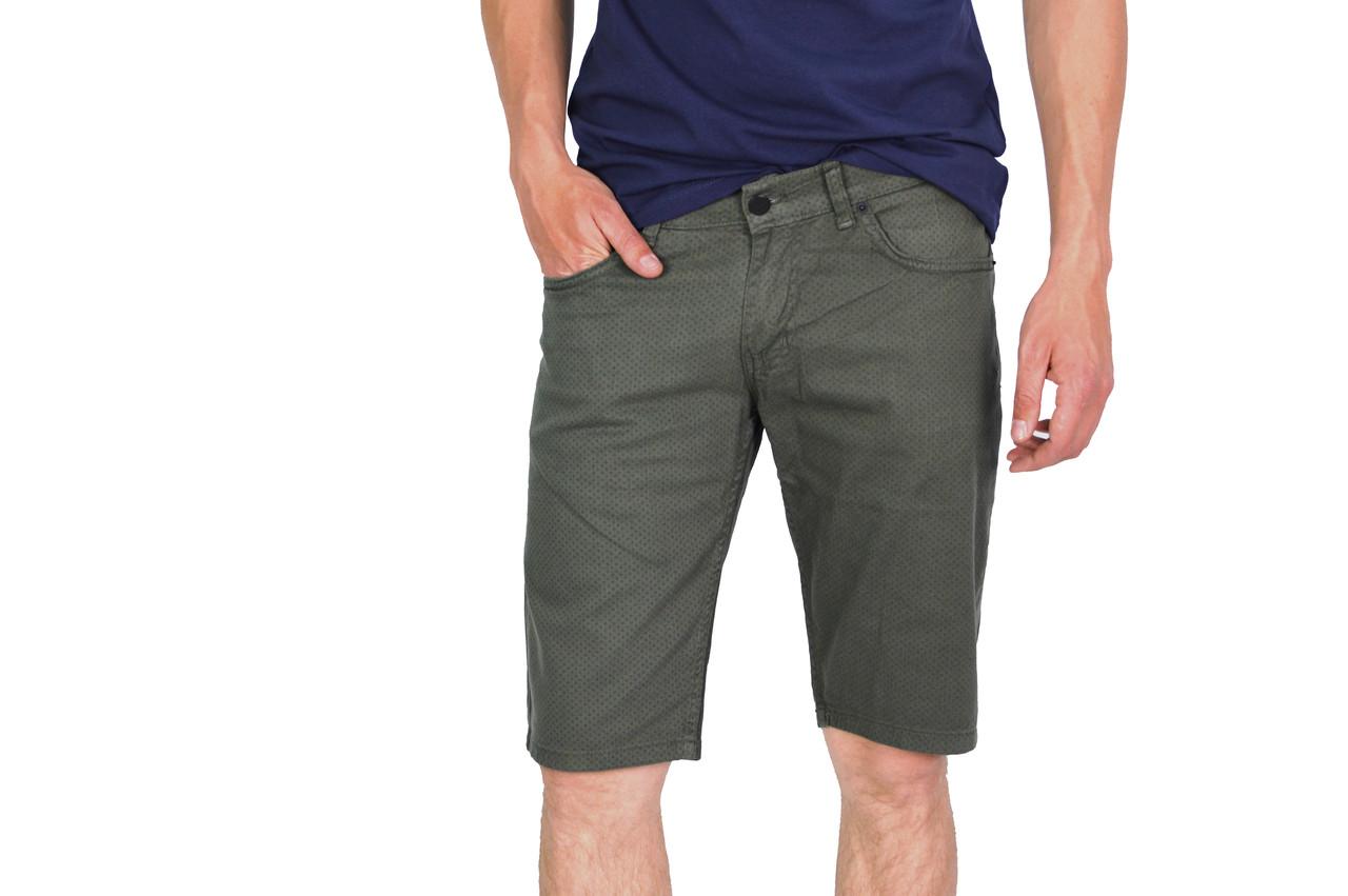 Темно-серые мужские шорты FASHION MARIO на лето