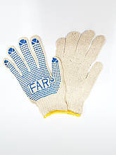 Перчатка Х/Б FAR с ПВХ покрытием