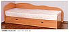 Односпальная кровать с ящиками Сплюх Летро, фото 2