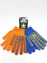 Перчатки рабочие DOLONI Звезда с ПВХ