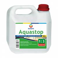 Антиплесневый грунт- концентрат 1:3 влагоизоляционный ESKARO Aquastop Bio 1л