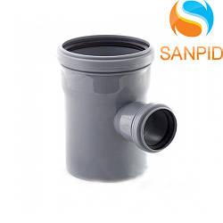 Трійник для внутрішньої каналізації Wavin 110х50/90°