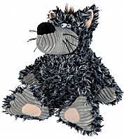 Игрушка Trixie Wolf для собак плюшевая, волк с пищалкой, 20 см