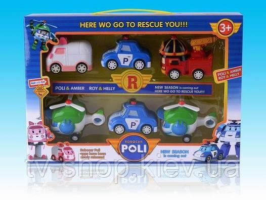 """Набор машинок Робокар Поли и его друзья,""""Robocar Poli"""""""