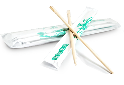 Палочки бамбуковые в упаковке 21 см